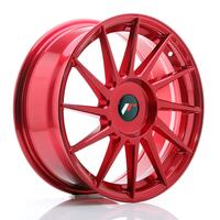 JR Wheels JR22 17x7 ET35-40 BLANK Platinum Red
