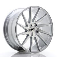 JR Wheels JR22 19x9,5 ET20-40 5H BLANK Silver Machined Face