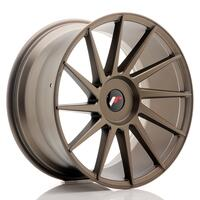 JR Wheels JR22 19x9,5 ET20-40 BLANK Matt Bronze