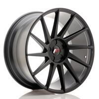 JR Wheels JR22 20x10 ET20-40 5H BLANK Matt Black
