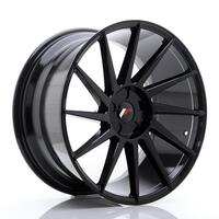 JR Wheels JR22 20x10 ET20-40 5H BLANK Glossy Black