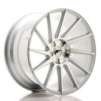 JR Wheels JR22 20x10 ET20-40 5H BLANK Silver Machined Face