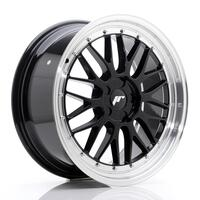 JR Wheels JR23 19x8,5 ET35-50 5H BLANK Gloss Black w/Machined Lip