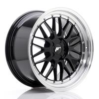 JR Wheels JR23 19x9,5 ET20-48 5H BLANK Gloss Black w/Machined Lip
