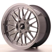 JR Wheels JR23 19x9,5 ET20-48 5H BLANK Hyper Black w/Machined Lip