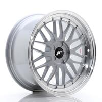 JR Wheels JR23 19x9,5 ET20-48 5H BLANK Hyper Silver w/Machined Lip