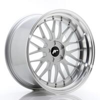 JR Wheels JR23 20x10,5 ET15-25 5H BLANK Hyper Silver w/Machined Lip