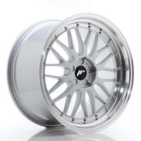 JR Wheels JR23 20x10,5 ET30-43 5H BLANK Hyper Silver w/Machined Lip