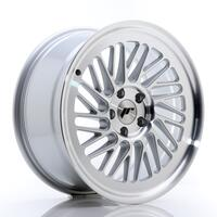 JR Wheels JR27 18x8,5 ET40 5x112 Silver Machined Face
