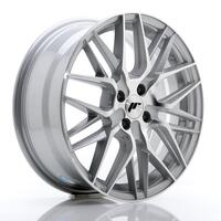 JR Wheels JR28 17x7 ET40 4x100 Silver Machined