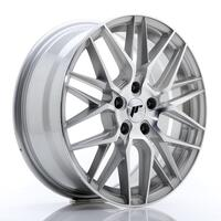 JR Wheels JR28 17x7 ET35 5x100 Silver Machined