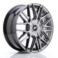 JR Wheels JR28 17x7 ET20-45 BLANK Hyper Black