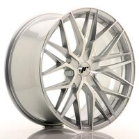 JR Wheels JR28 21x10,5 ET15-55 5H BLANK Silver Machined Face
