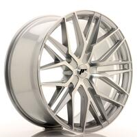 JR Wheels JR28 22x10,5 ET15-50 5H BLANK Silver Machined Face