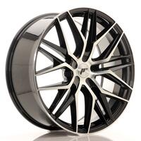 JR Wheels JR28 22x9 ET30-45 5H BLANK Gloss Black Machined Face