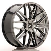 JR Wheels JR28 22x9 ET30-45 5H BLANK Hyper Black
