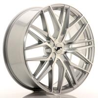 JR Wheels JR28 22x9 ET30-45 5H BLANK Silver Machined Face