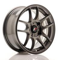 JR Wheels JR29 15x7 ET20-42 4H BLANK Hyper Gray