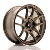 JR Wheels JR29 15x7 ET20-42 4H BLANK Matt Bronze