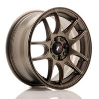 JR Wheels JR29 15x7 ET35 4x100/108 Matt Bronze