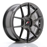 JR Wheels JR30 17x7 ET40 4x100 Hyper Gray