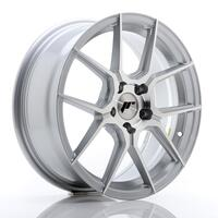 JR Wheels JR30 17x7 ET40 5x112 Silver Machined Face