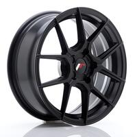 JR Wheels JR30 17x7 ET20-40 5H BLANK Matt Black
