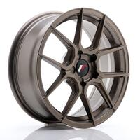 JR Wheels JR30 17x7 ET20-40 5H BLANK Matt Bronze