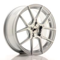 JR Wheels JR30 17x7 ET20-40 5H BLANK Silver Machined Face