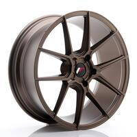 JR Wheels JR30 20x8,5 ET20-42 5H BLANK Matt Bronze