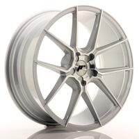 JR Wheels JR30 20x8,5 ET20-40 5H BLANK Silver Machined Face