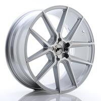 JR Wheels JR30 21x9 ET20-40 5H BLANK Silver Machined Face