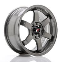 JR Wheels JR3 15x7 ET40 4x100/114 Gun Metal