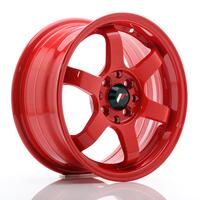 JR Wheels JR3 15x7 ET40 4x100/114 Red