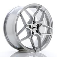 JR Wheels JR34 18x8 ET35 5x120 Silver Machined Face