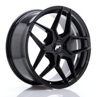 JR Wheels JR34 18x8 ET20-42 5H BLANK Glossy Black