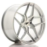 JR Wheels JR34 20x10 ET20-40 5H BLANK Silver Machined Face