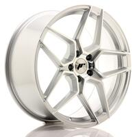 JR Wheels JR34 20x9 ET35 5x120 Silver Machined Face