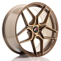 JR Wheels JR34 20x9 ET20-40 5H BLANK Platinum Bronze
