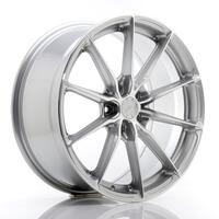 JR Wheels JR37 19x8,5 ET45 5x112 Silver Machined Face