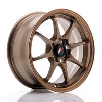 JR Wheels JR5 15x7 ET35 4x100 Dark Anodized Bronze