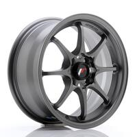 JR Wheels JR5 15x7 ET35 4x100 Matt Gun Metal