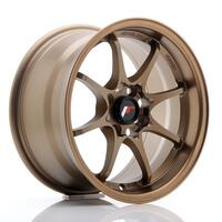 JR Wheels JR5 15x8 ET28 4x100 Dark Anodized Bronze