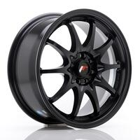JR Wheels JR5 16x7 ET30 4x100/108 Matt Black