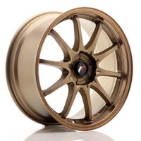 JR Wheels JR5 18x8 ET35 5H BLANK Dark Anodized Bronze
