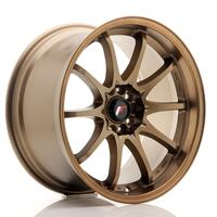 JR Wheels JR5 18x9,5 ET22 5x100/114,3 Dark Anodized Bronze