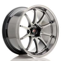 JR Wheels JR5 19x10.5 ET12 5H BLANK Hyper Black