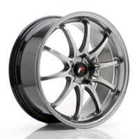 JR Wheels JR5 19x8.5 ET43 5H BLANK Hyper Black