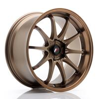 JR Wheels JR5 19x9.5 ET12-36 5H BLANK Dark Anodized Bronze