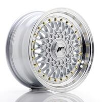 JR Wheels JR9 15x8 ET15 4x100/114 Silver w/Machined Lip